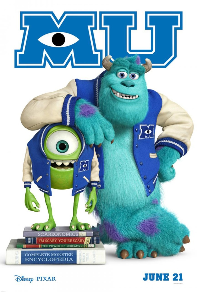 Monsters U image