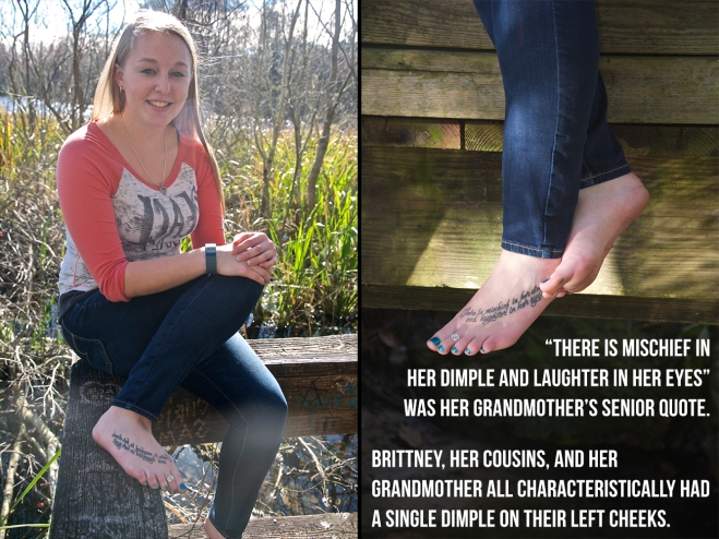 Brittney Hopper, an 18-year-old political science freshman