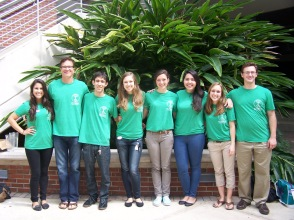 Dr. Thiele and Sustainability Studies Interns