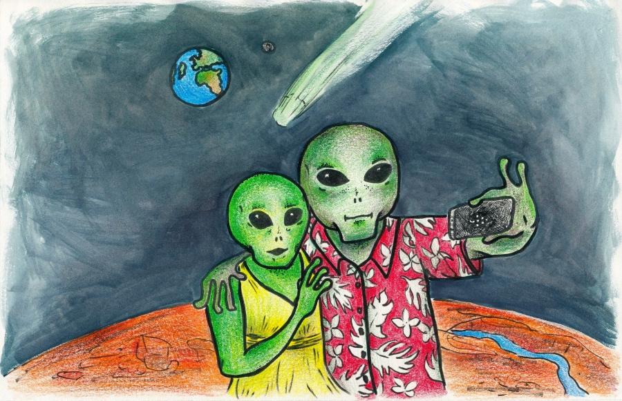 alien satire