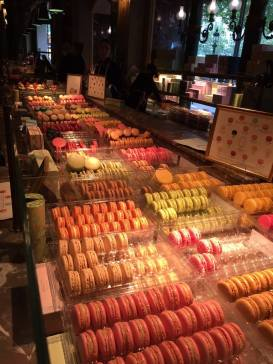 The macaroons were glorious and everywhere